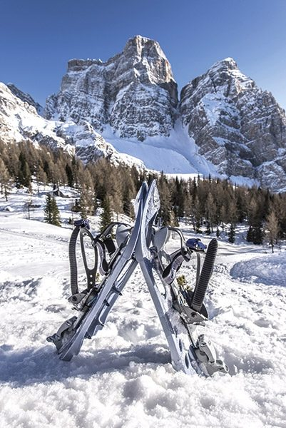 745_SP0 Image from Ski Touring and Snowshoeing in the Dolomites by James Rushforth