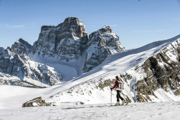 50 shades of snow: a guide to the white stuff. Image from Ski Touring and Snowshoeing in the Dolomites by James Rushforth. Pb Cicerone Press.