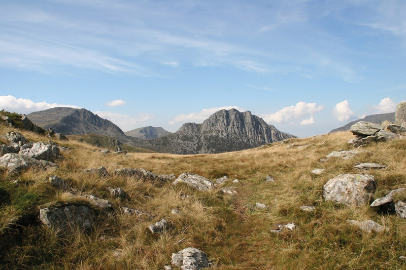 Welsh words for hillwalkers, mountain walking in snowdonia 767_SP5