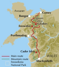 Walk the Snowdonia Way with a Cicerone guidebook