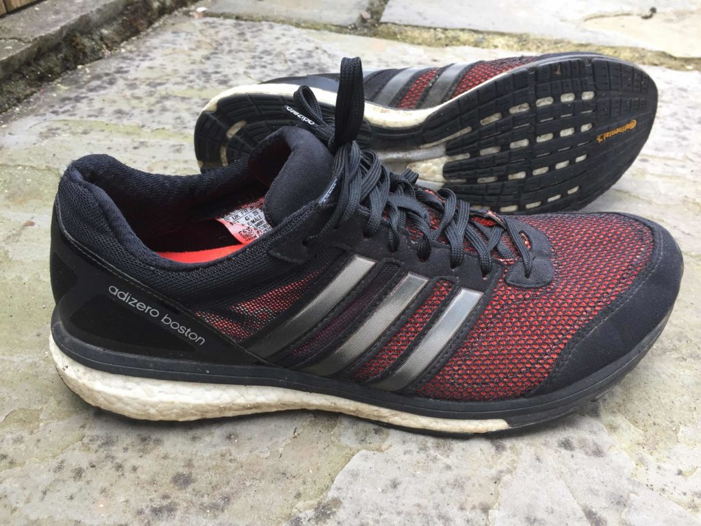 Adidas Adizero Boston Boost road running shoe review, Shoes for fell running, trail running and road running - Do I have too many running shoes?