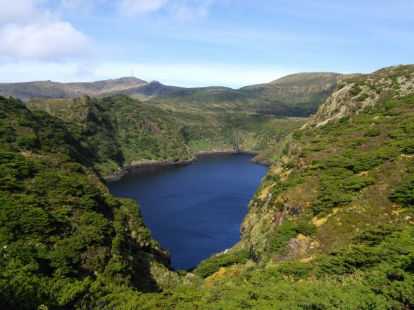 Paddy is exploring the Azores: a walkers' paradise