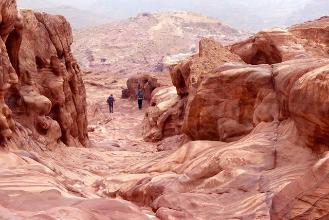 Petra, from the Jordan Trail